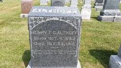 Henry F Althoff