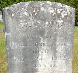 Mary Jane <I>Hanmer</I> Greenough