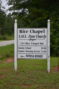 Rice Chapel AME Zion Church Cemetery