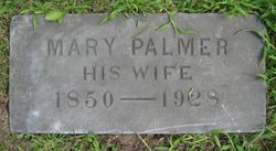 Mary <I>Palmer</I> Thayer