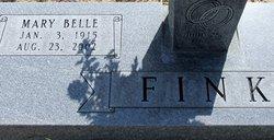 Mary Belle <I>Dedman</I> Fink