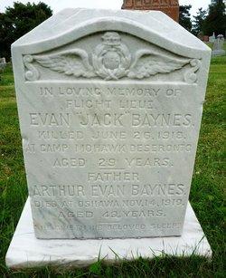 "Lieut Evan John ""Jack"" Baynes"