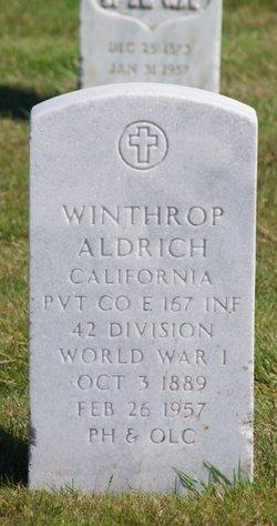 Pvt Winthrop Aldrich