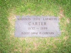 "Madison Lafaette ""Fate"" Carter"