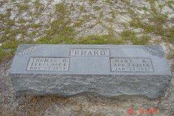 Mary Annie <I>Kearse</I> Beard