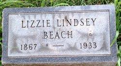 Lizzie Phebe <I>Lindsey</I> Beach