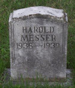 Harold Louis Messer