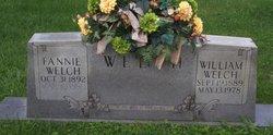 Fannie <I>Bowles</I> Welch