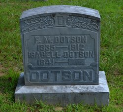 Isabell Florence <I>Hufford</I> Dotson
