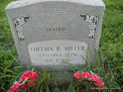 Thelma <I>Bryant</I> Miller