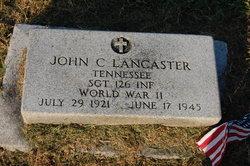 John C Lancaster