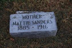 Mattie Sanders