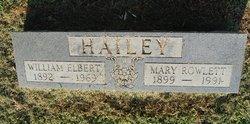 William Elbert Hailey