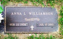 "Anna Louise ""Annie"" <I>Lemaster</I> Williamson"