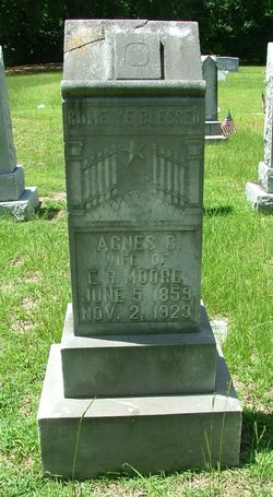 Agnes Cornelia <I>Bowman</I> Moore