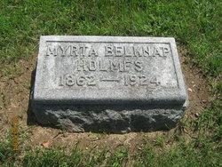 Myrta <I>Belknap</I> Holmes