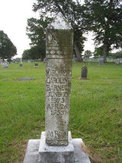 Margaret Caroline <I>Crocker</I> Barnett