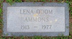 Lena <I>Odom</I> Ammons