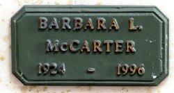Barbara Lamar <I>Sloan</I> McCarter