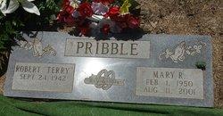 Mary Roxanna <I>Robb</I> Pribble