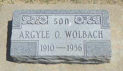 "Orval Argyle ""Shorty"" Wolbach"