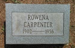 Dorothy Rowena <I>Shupp</I> Carpenter