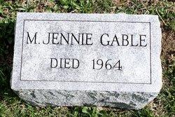 M. Jennie Gable