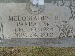 "Melquiades ""Mike"" Parra, Sr"