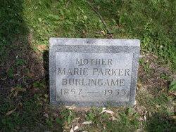 Marie <I>Parker</I> Burlingame