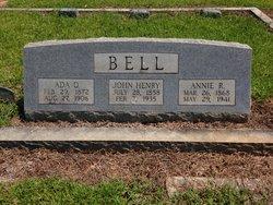 Mary Ada <I>Quattlebaum</I> Bell