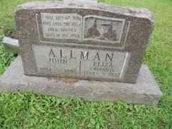 Eliza <I>Caldwell</I> Allman