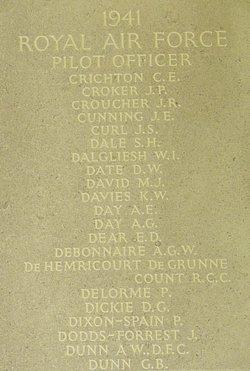 Pilot Officer George Bannatyne Dunn