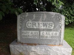 Mary Alice <I>Borah</I> Crews
