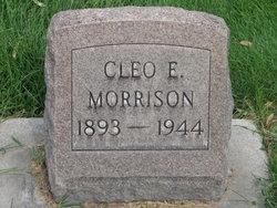 Cleo Elizabeth <I>Weston</I> Morrison