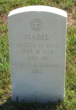 Mabel <I>Cunningham</I> Devaney