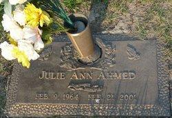 Julie Ann <I>Sanders</I> Ahmed