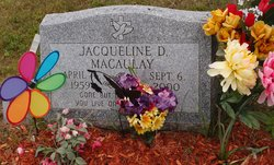 Jacqueline D <I>Reed</I> Macaulay
