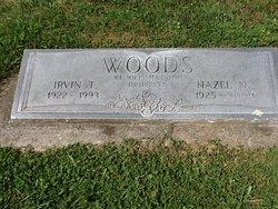 Hazel Isabelle <I>Nichols</I> Woods