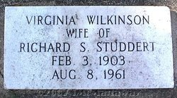 Virginia <I>Wilkinson</I> Studdert