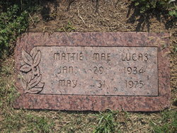 Mattie Mae Lucas