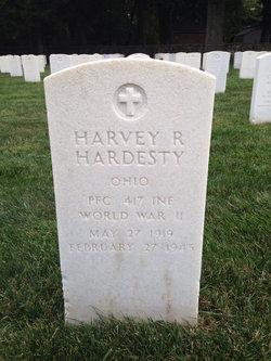 PFC Harvey R Hardesty