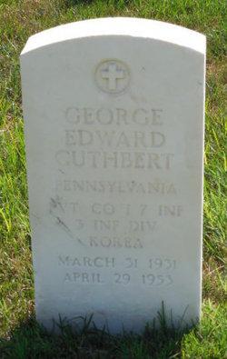 Pvt George Edward Cuthbert