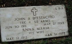 John A D'Estachio