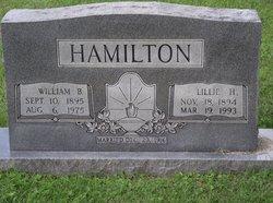 Lillie <I>Poynter</I> Hamilton