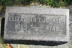 Elizabeth T <I>Southmayd</I> Johnson