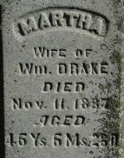 Martha <I>Bowden</I> Drake