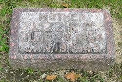 Lizzie P. <I>Tarr</I> Sutherland
