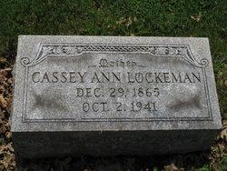 """Cassey Anna """"Cassie"""" <I>Krout</I> Lockeman"""