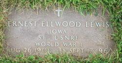 """Ernest Elwood """"Stub"""" Lewis"""