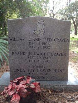 William Red Lonnie Craven